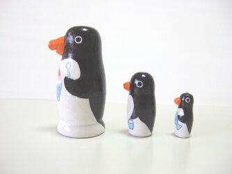 ペンギン三兄弟・マトリョーシカ♪の画像