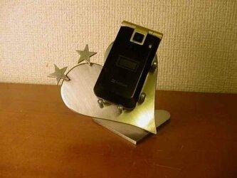 ハートダブルスター携帯電話スタンドの画像