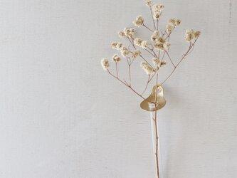 真鍮の壁掛け花器 [ フラワースプーン ]の画像