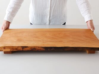 【在庫1点SALE】シュリザクラ 無垢材 ロングボードの画像