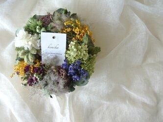 round flower wreath.svの画像