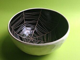 black bowl (spider web) 大の画像