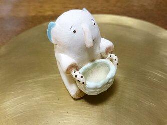 動物の置物~elephant~001の画像