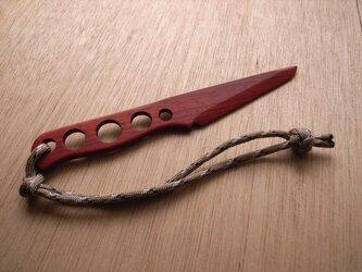 ウッドナイフWK001(パラコード付き)の画像