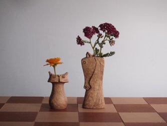 "SAVANNA   Chess vase         サバンナ チェスベース  ""ナイトとポーン""   イエローオーカーの画像"