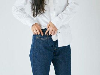 HANDROOM 5 Pocket Jeans 阿波正藍染の画像
