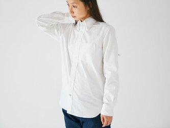 HANDROOM B.D Shirt White [unisex / 5size]の画像