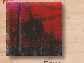 【Keiko.K】大地のオマージュ~壁掛け時計の画像