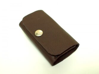 スマートキー対応! 手縫い ベンズ革キーケース の画像