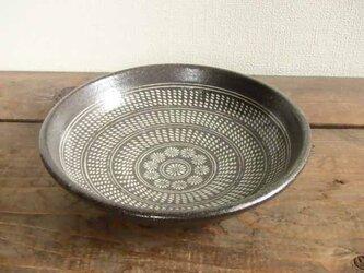 三島手の深皿(象嵌)の画像