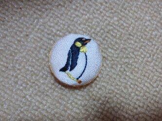帯留め(ペンギン)の画像
