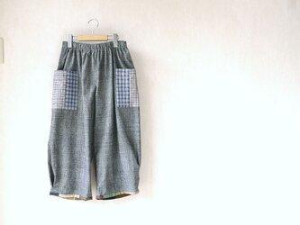 上海木綿(土布)のパンツ・2の画像