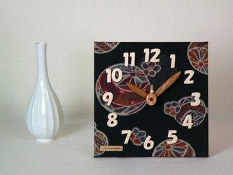布時計 *銘仙手毬文様の画像