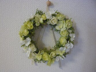 *白いラナンキュラスのナチュリース04*の画像