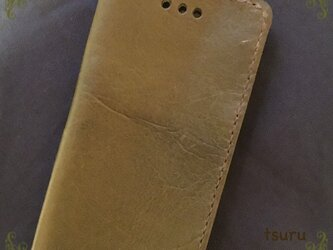 最後のひとつ♡iphone6 6s牛ヌメ革携帯ケースの画像