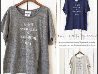 新作☆NOLITA ゆるフワ ドルマンスリーブ Tシャツ の画像