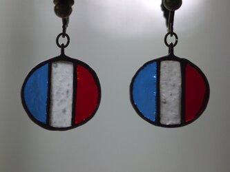 国旗 イヤリング(フランス)の画像