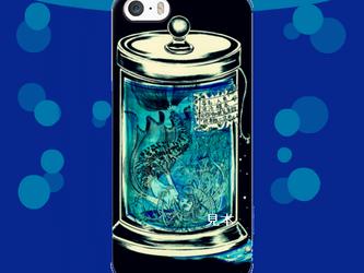 ◇iPhone 5/5s/SE 対応 Apple用ケース『標本瓶に沈め』人魚の液浸標本 の画像