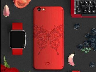 【360°全面保護強化ガラスフィルム付き】iPhone ケース iPhone全機種対応 スマホケース 赤の画像