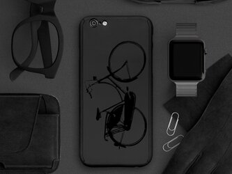 【360°全面保護強化ガラスフィルム付き】iPhone ケース iPhone全機種対応 スマホケース  黒002の画像