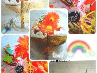 幸せを運ぶお菓子の花束 ブーケ・ド・ドルチェ ハンドメイドオーダーの画像