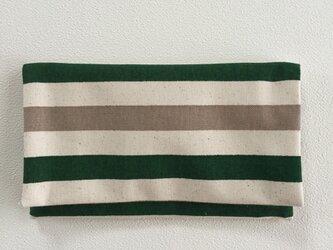 懐紙、通帳いれ marine greenの画像
