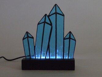 ステンドグラス マンハッタン ライトアップパネル Mサイズの画像