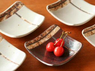 四角い豆皿(1個)の画像