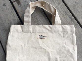 トートバッグ小 野鳥シリーズ エナガの画像
