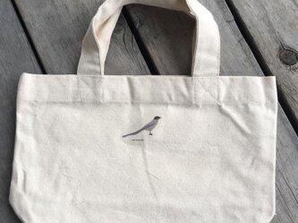 トートバッグ小 野鳥シリーズ オナガの画像