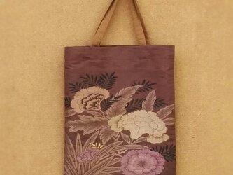 帯で作った手提げ袋の画像