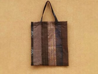 絹着物リメイク:手提げ袋 の画像