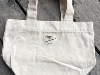 トートバッグ小 野鳥シリーズ キクイタダキの画像