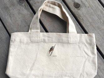 トートバッグ小 野鳥シリーズ ジョウビタキの画像