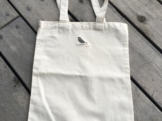トートバッグ大 野鳥シリーズ メジロの画像