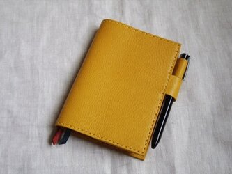 【kaisfa様オーダー品】オイルドレザーのほぼ日手帳カバー(文庫サイズ)の画像