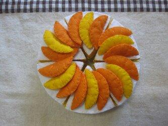 オレンジケーキの画像