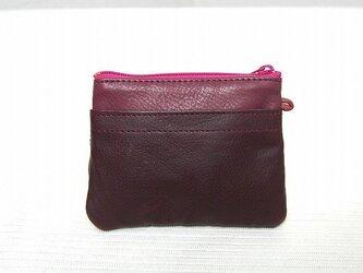 角型財布(ワインコンビ2)の画像