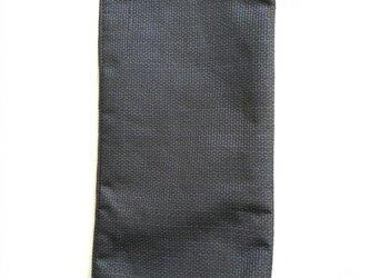 縦型ポーチ(大島紬)の画像