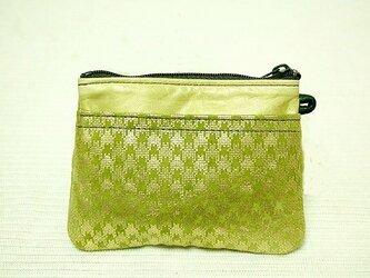 角型財布(千鳥格子柄)の画像