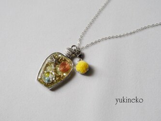 香る✿オルゴナイトペンダント(ヒトデ・真珠貝)Yの画像
