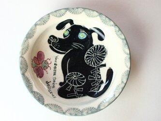 可愛い犬の皿 /子ども食器/陶器/陶芸家/キッズ食器/ cute ceramic/potteryの画像
