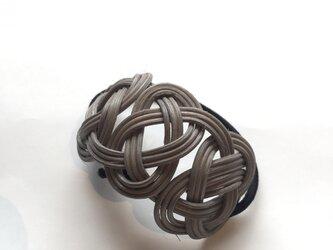 籐の髪飾(シルバーグレー)の画像