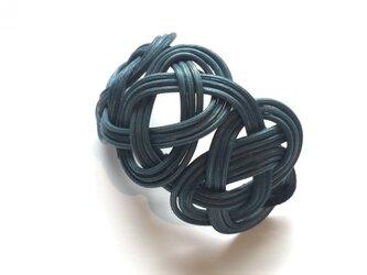 籐の髪飾(ダークグリーン)の画像