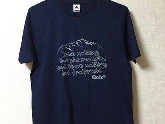 【Mountain】Rocky's オリジナルTシャツ ネイビーの画像