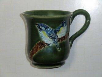 仲良しことりのマグカップの画像