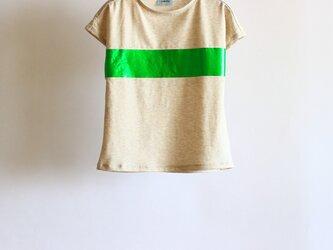 キッズ箔プリントTシャツ <キッズ>の画像