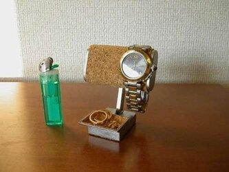 ちび!小さいトレイ付き腕時計スタンドの画像