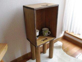 【木工部再開】アンティーク風リメイク家具 お部屋のカフェラックの画像