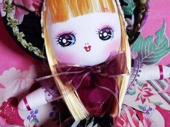 文化人形(中) *オランダ風ドレスの子*の画像